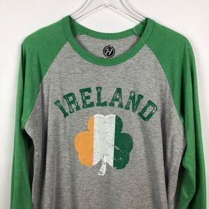 Shirts - Hybrid | Ireland Baseball Shirt | L